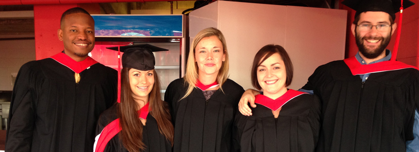 History Department MAs  at Fall 2014 Convocation