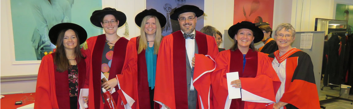 Recent History PhD Graduates with GPD